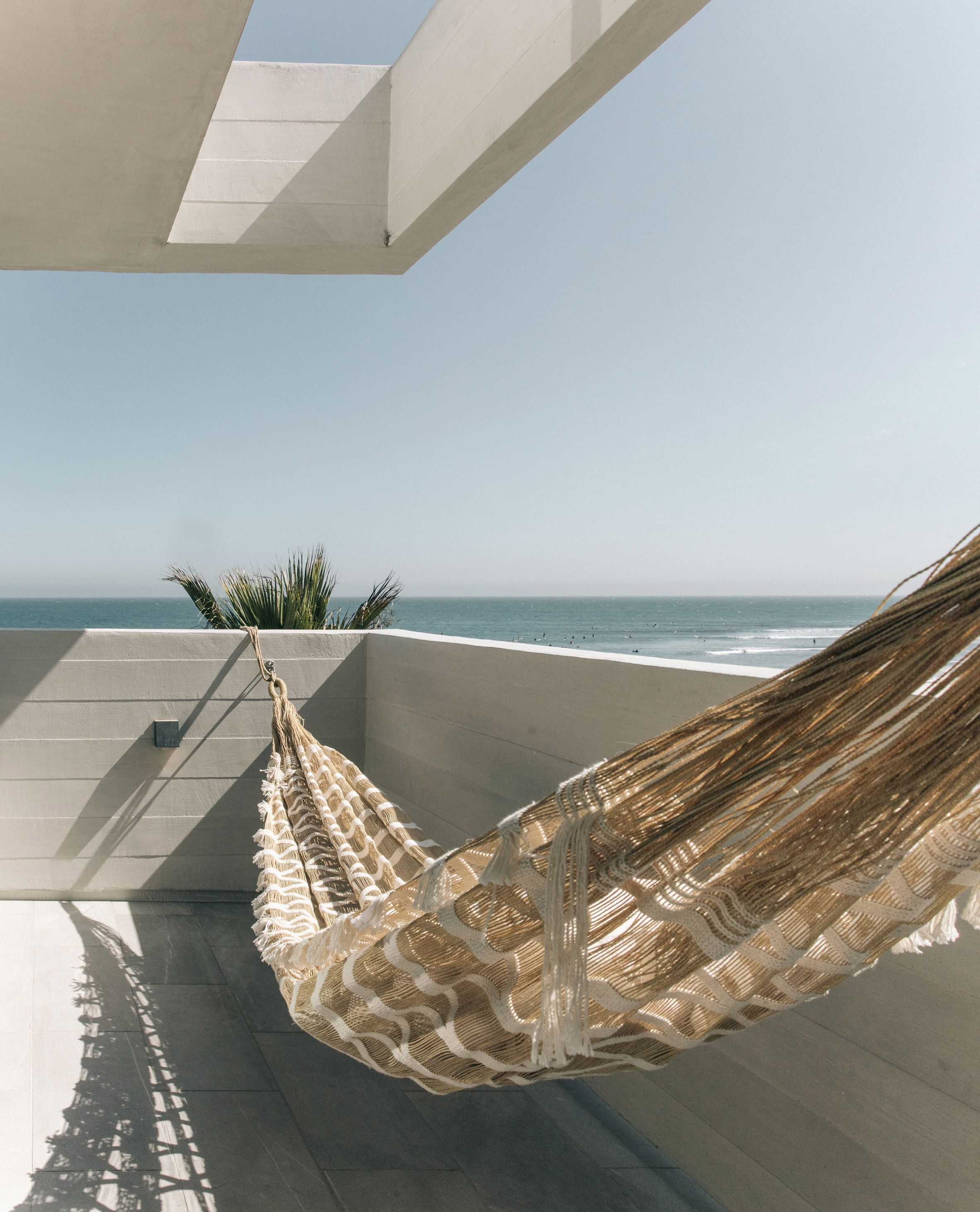 All The Bedrooms Have Access To A Sea View Balcony With Hammocks