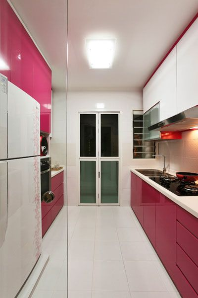 Pin By Zoey On Ideas For The House Hot Pink Kitchen Kitchen