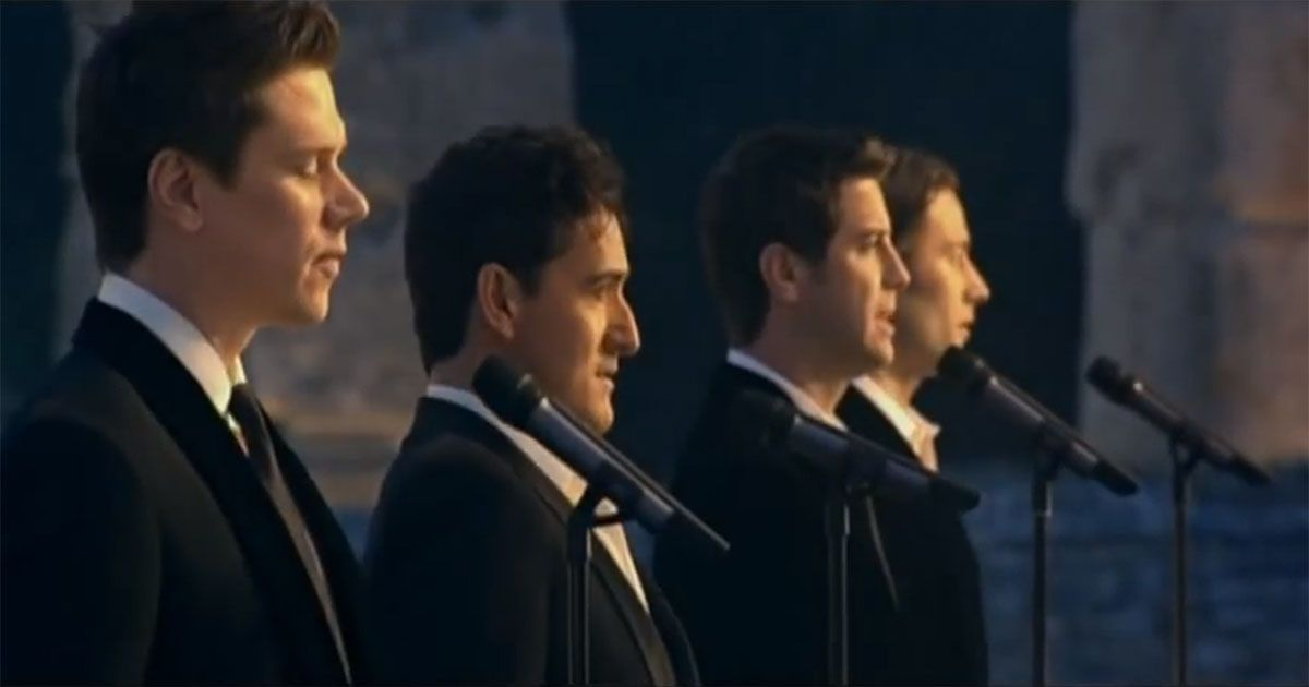 Il divo amazing grace what happened when these guys took