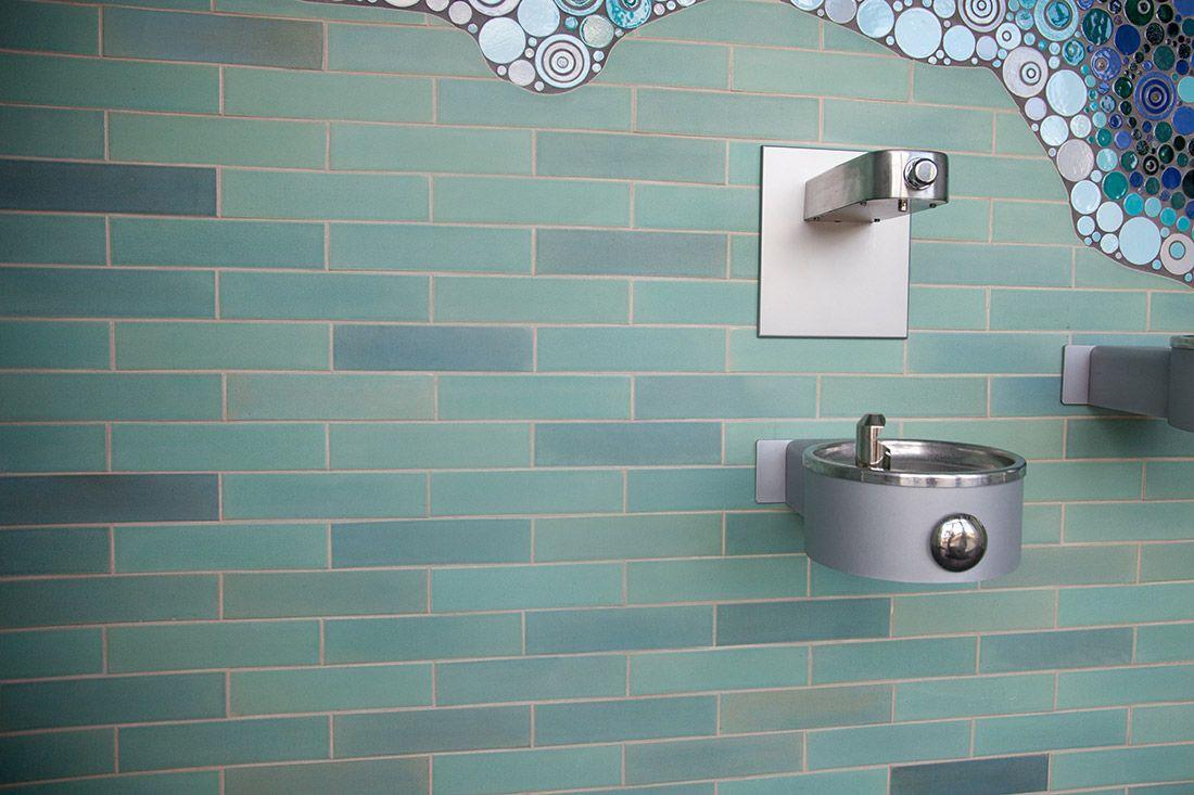White Bear Lake Mosaic – A Must-See Bathroom! | Subway tiles ...