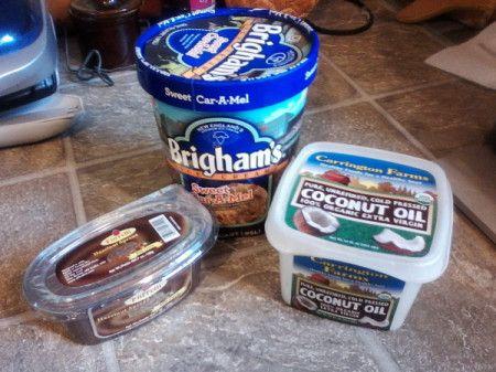 Easy Ice Cream Shell Coating