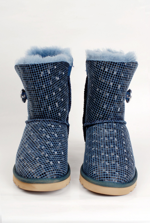 ugg women 3d fashion bailey button boots 5803 blue new ugg special rh pinterest com