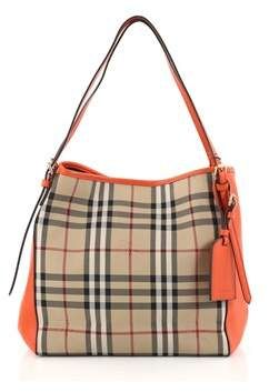 af874d0cbc4c Burberry Pre-owned  Canterbury Tote Horseferry Check Canvas And Leather  Small.
