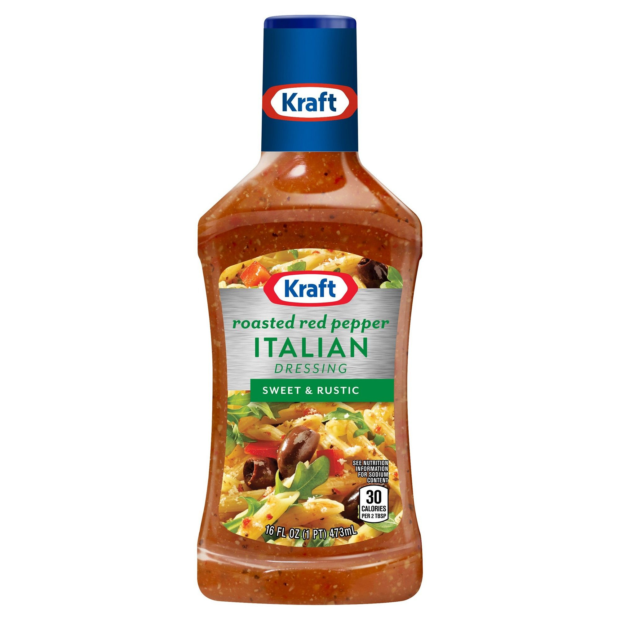 6c5ae0b52 Kraft Roasted Red Pepper Italian Salad Dressing - 16oz Kraft Roasted Red  Pepper Italian Salad Dressing