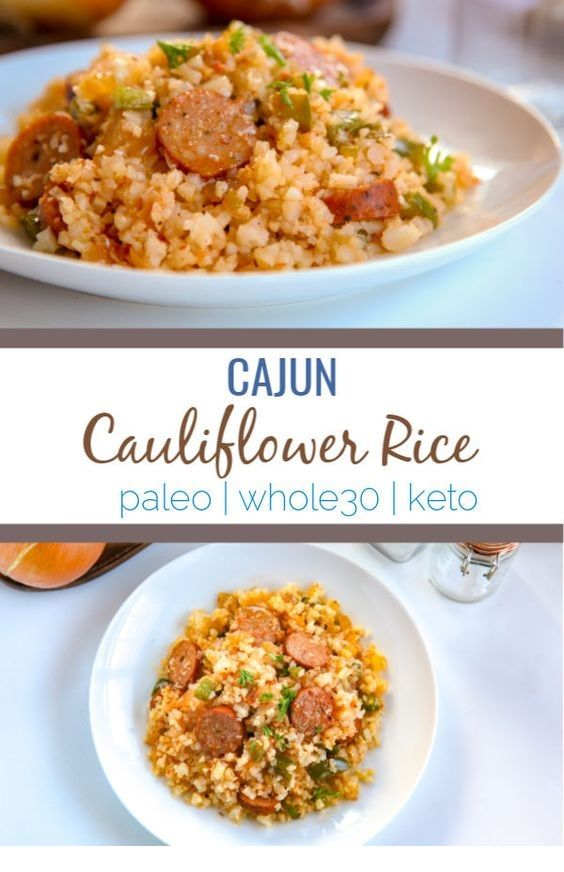 CAJUN CAULIFLOWER RICE images