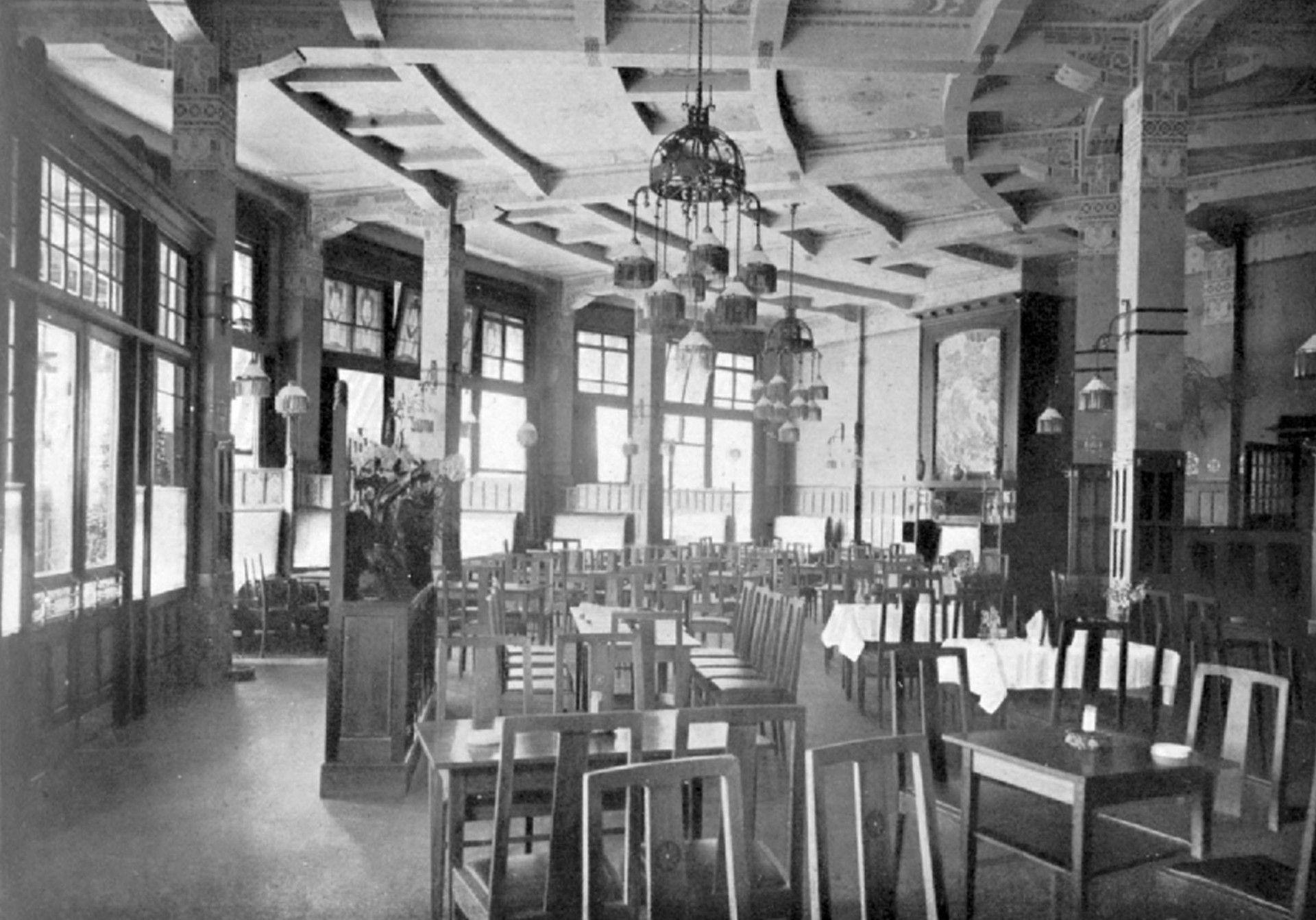 station hofplein interieur voor 1940