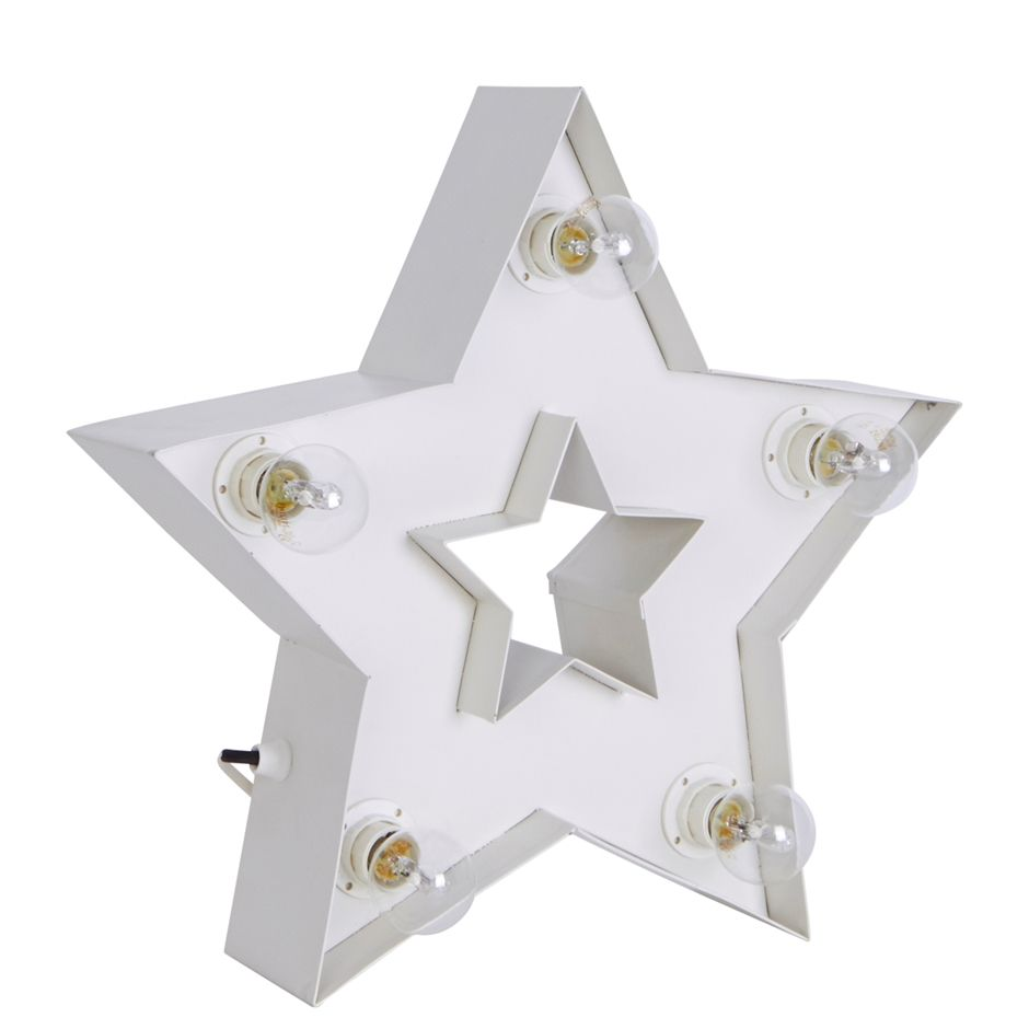 Lamp Ster Small, Wit - Wonen | Pinterest - Verlichting