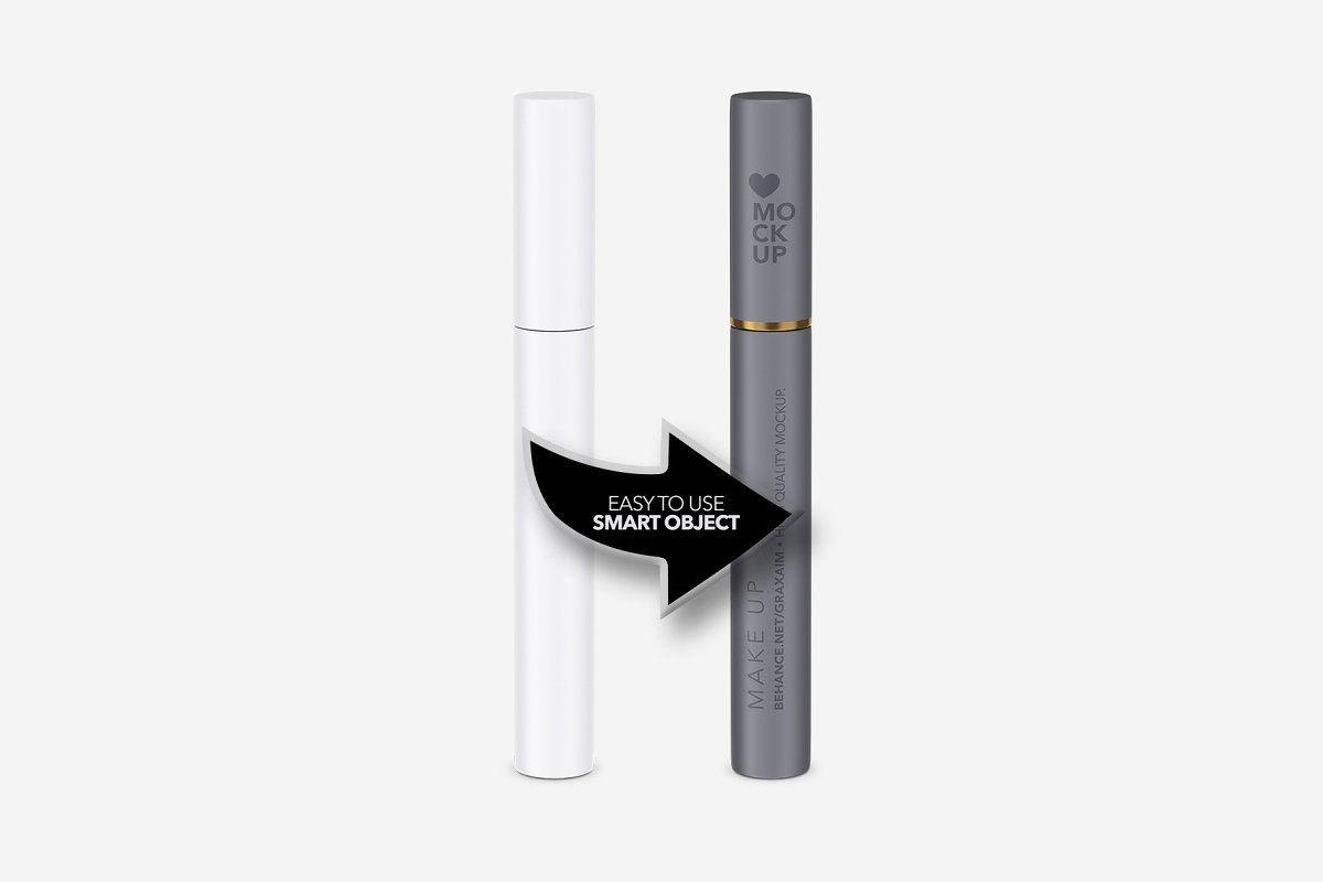 Cosmetics Mockup - Make up - Matte ,