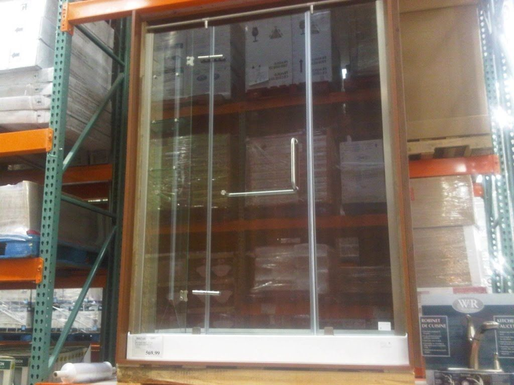 Costco Glass Shower Door Base 569 Taxes Nationwide Assuming In Stock Redflagdeals Com Forums Glass Shower Doors Shower Doors Room Divider