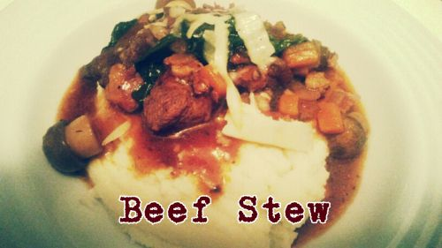Beef stew for the soul
