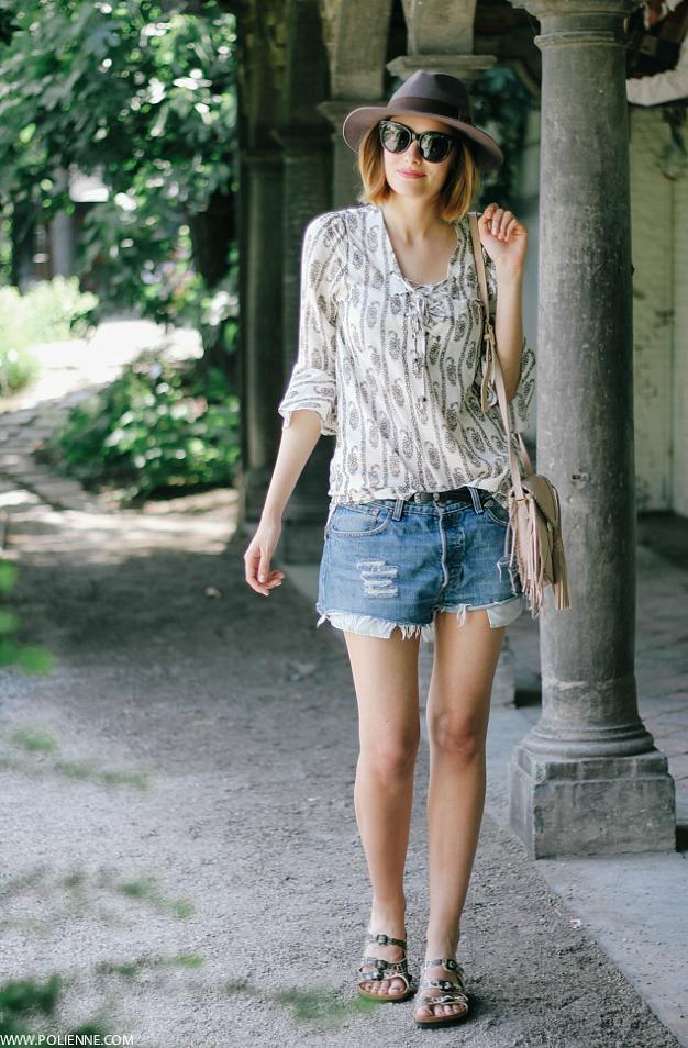 2143d5e1536 Fashion · Olive Clothing Cream Ethnic Print Popover. Olive ClothingBlogger  StyleFashion ...