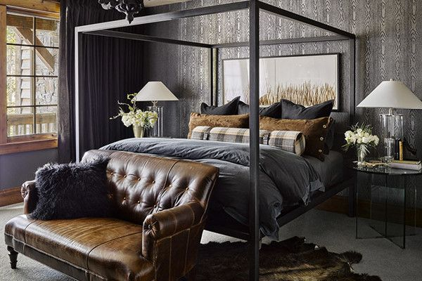 Put In Plaid Rustic Master Bedroom Home Decor Small Inspiration