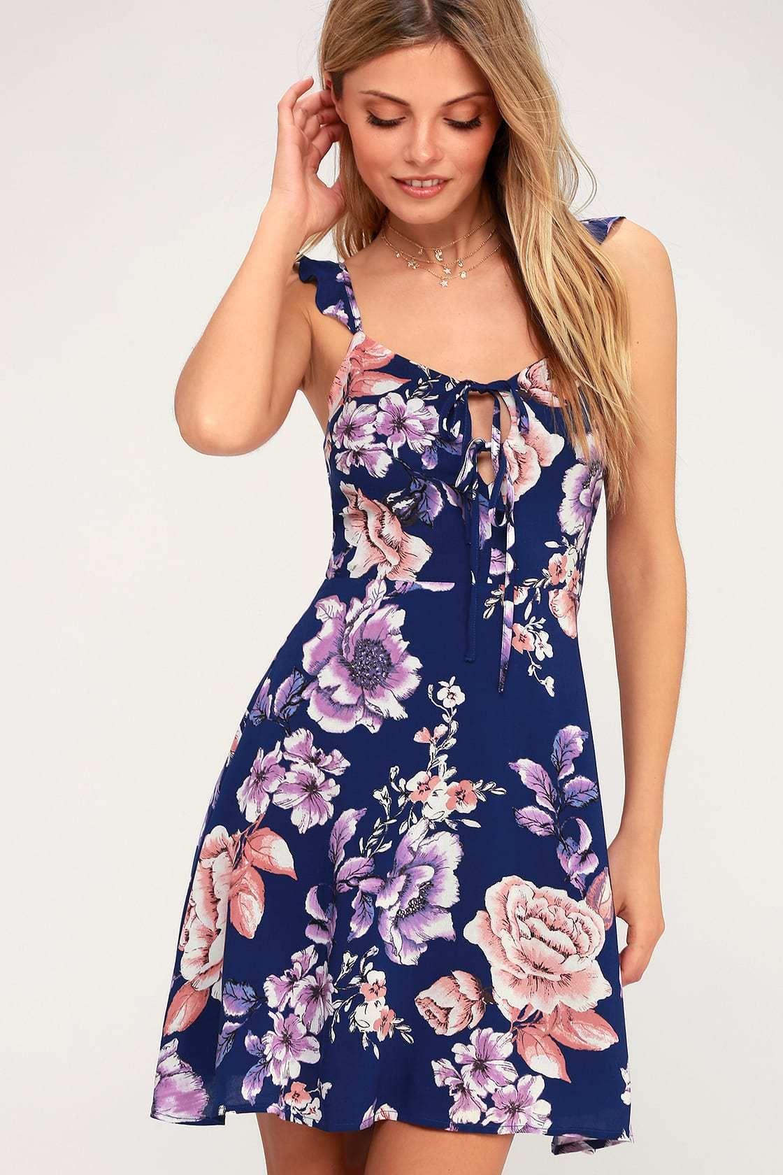 40 Cute Summer Sundresses Under 100 Pearls Prada Purple Summer Dress Sundress Fashion [ 1680 x 1120 Pixel ]