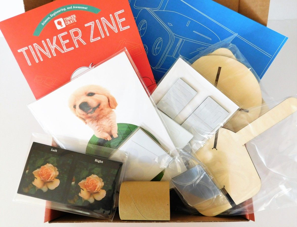 nice Tinker Crate — September 2016 Review