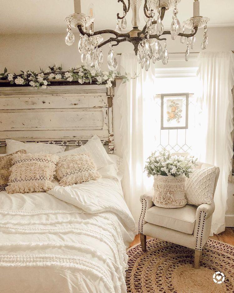 camera da letto shabby chic style design foto e idee per. Farmhouse Master Bedroom Camera Da Letto Shabby Decorazione Camera Da Letto Arredo Camera Da Letto Vintage