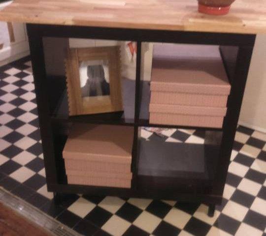 Idees Deco Et Diy Maison Ikea Bidouilles Ikea Meuble Kallax Relooking Meuble Kallax