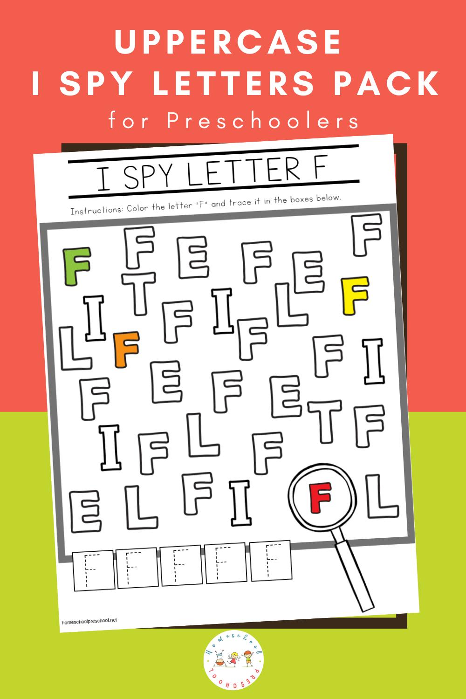 Free Uppercase I Spy Letters Printable Worksheets Alphabet Activities Preschool Math Activities Preschool Preschool Literacy Centers [ 1500 x 1000 Pixel ]
