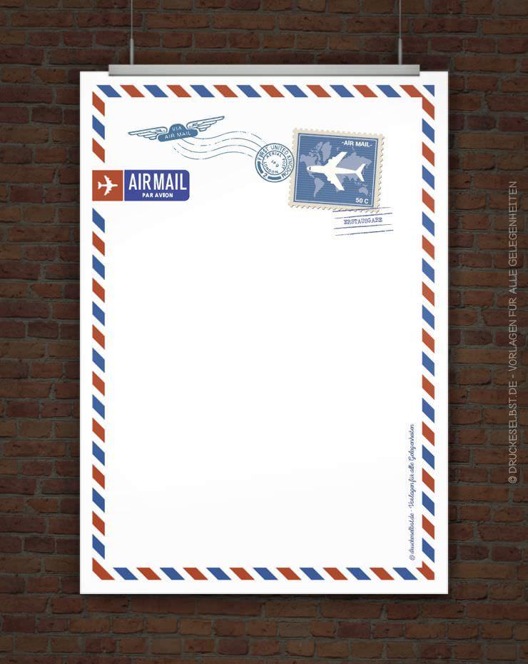 Pin Von Michelle Guest Auf Airmail Briefpapier Zum