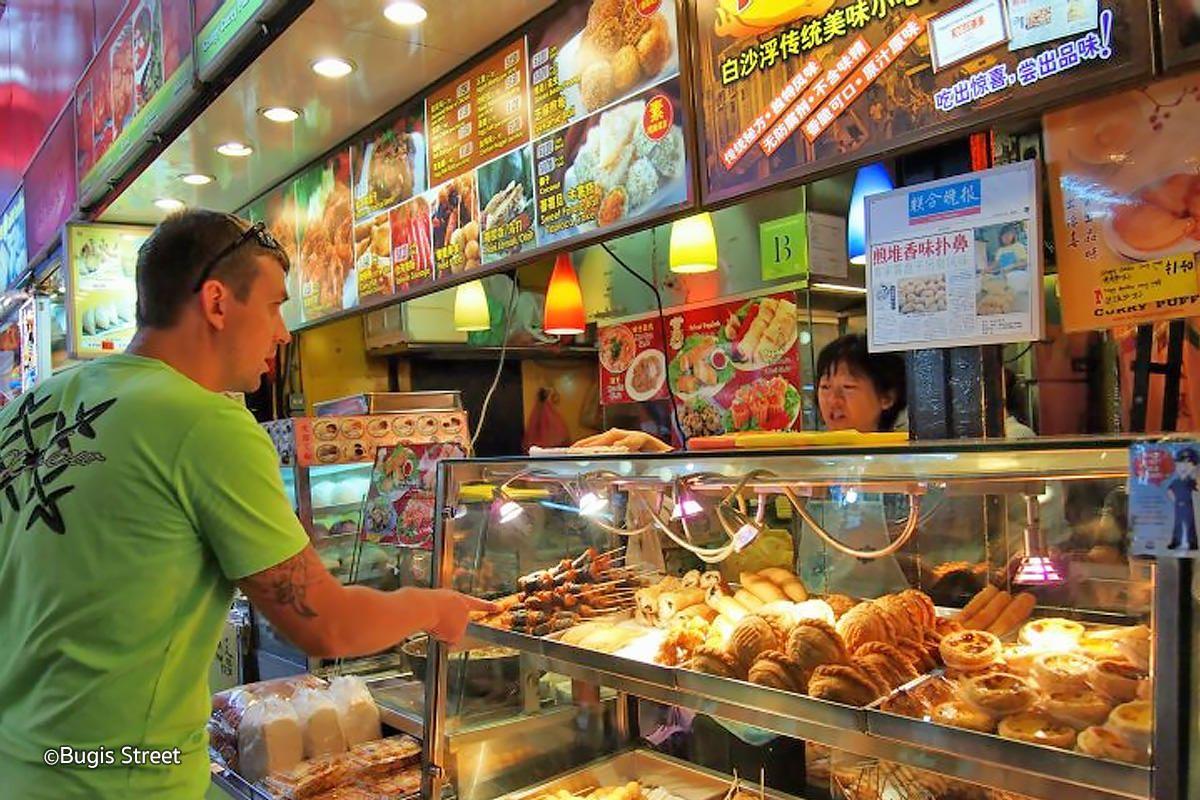 Bugis street food Singapore travel, Street, Singapore