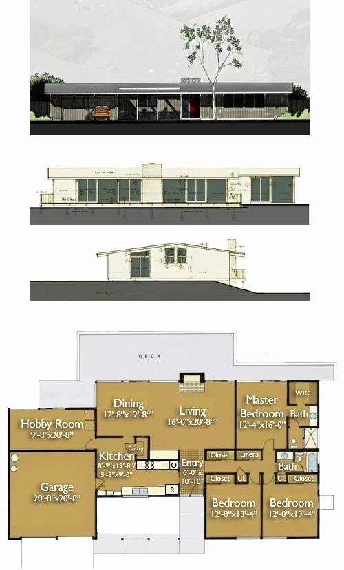 Eichler Home Plans Unique Eichler Home Designs A Modern Shed Modern ...