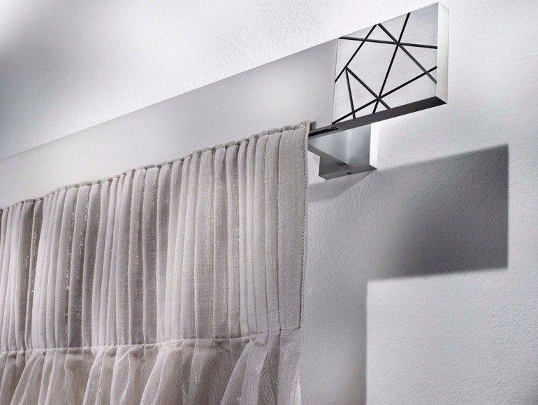 tringle rideau en aluminium de style contemporain criseide collection aluminium by scaglioni. Black Bedroom Furniture Sets. Home Design Ideas