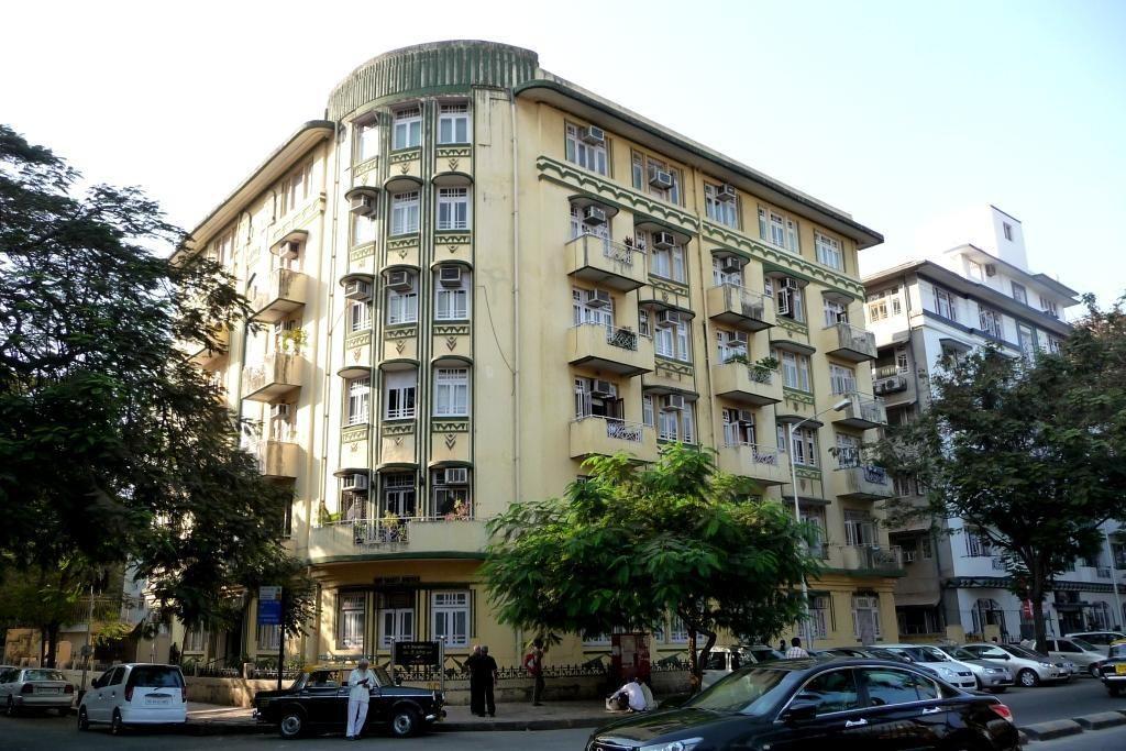 Shiv Shanti Bhuvan Building. South Mumbai (Bombay) Inde.
