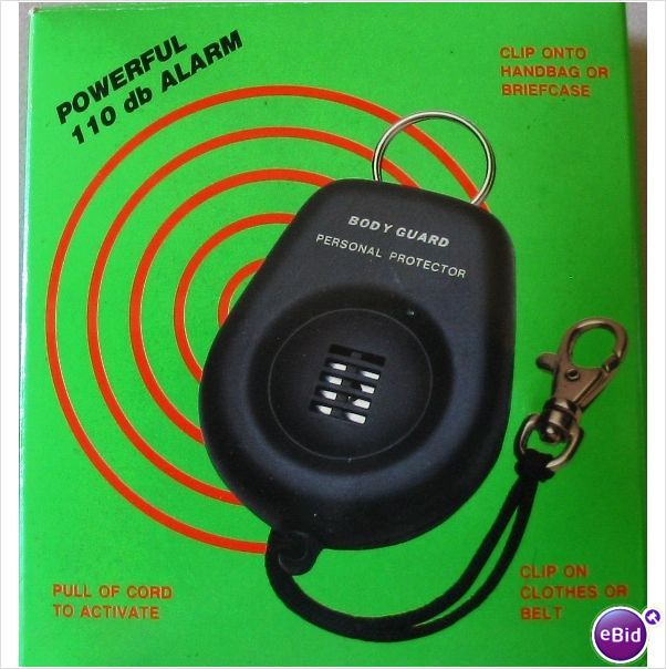 Body Guard Personal Safety Alarm 110db | Personal safety ...