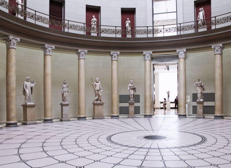 Karl Friedrich Schinkel Davide Apicella Altes Museum Museumsinsel Berlin Architettura