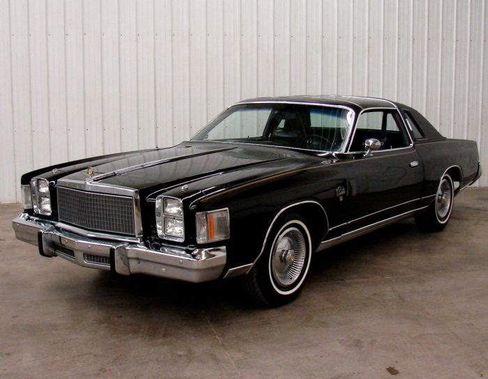This New Yorker Brougham Interior From The Late 70s Represented A
