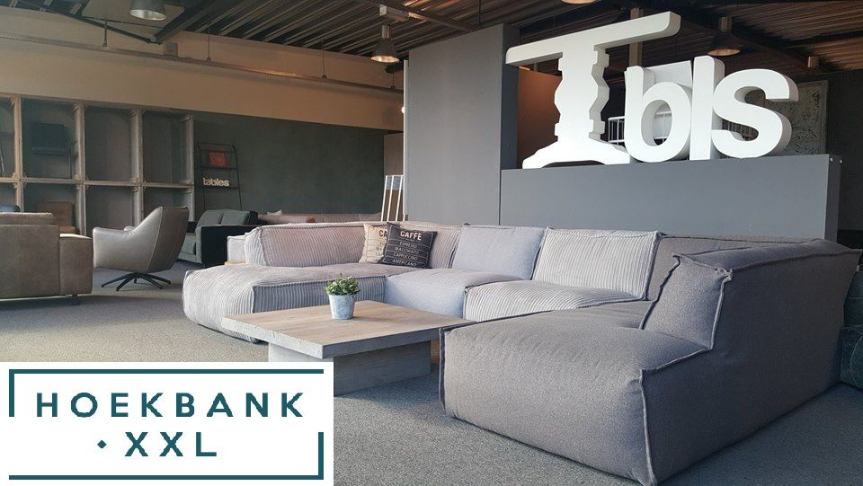 Grote Hoekbank Xxl.Elementenbank La Maison Met Longchair Grote Lounge Bank