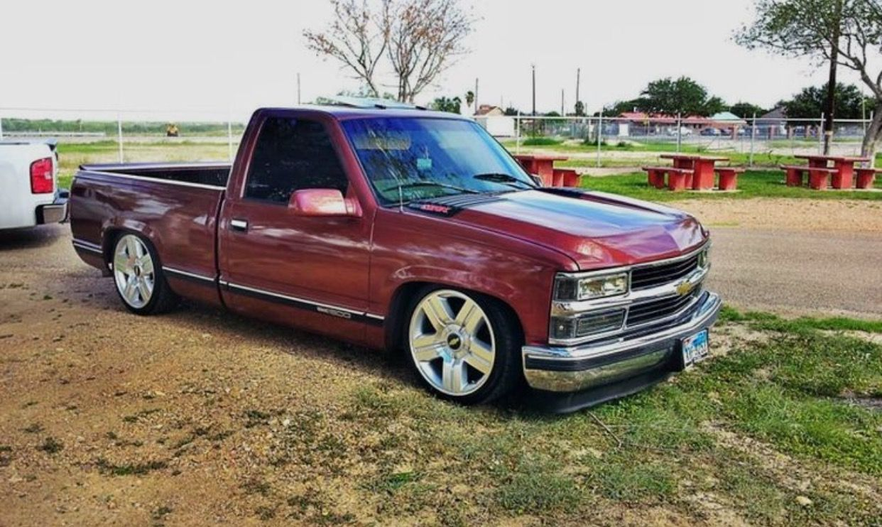 Hood on a chevy