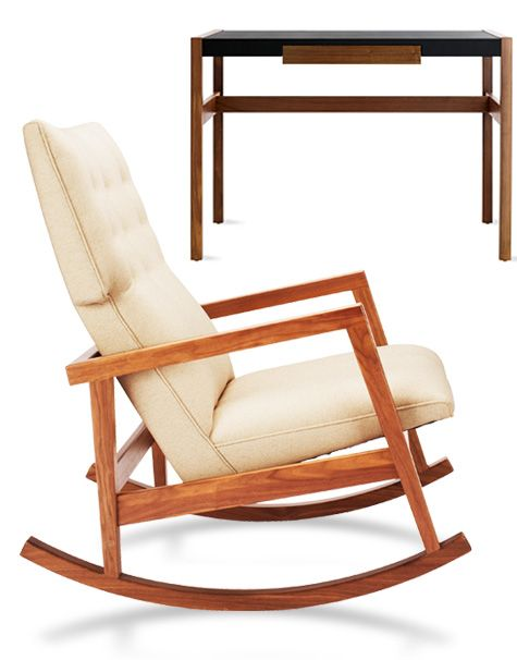 Jens Risom And A Taste For Danish Rocking Chairs Desks And Decoration