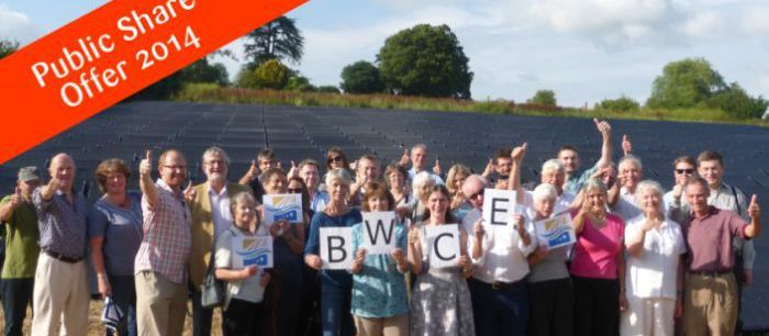 Bath & West Community Energy just closed their third public share offer.  It raised a remarkable amount of money, £1.6 million, to build the Wilmington Farm Solar Array.  Coming on the heels of the recent West Solent Solar Co-operative (which included many members of Transition New Forest) share issue raising £2 million, it's very impressive to see the scale of these Transition community energy initiatives.