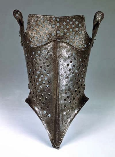 0de92909d2 Metal Corsets-16th century- Spanish fashions influenced Italian and English  ladies. An iron hinged armour-like corset was worn to flatten the body  giving a ...