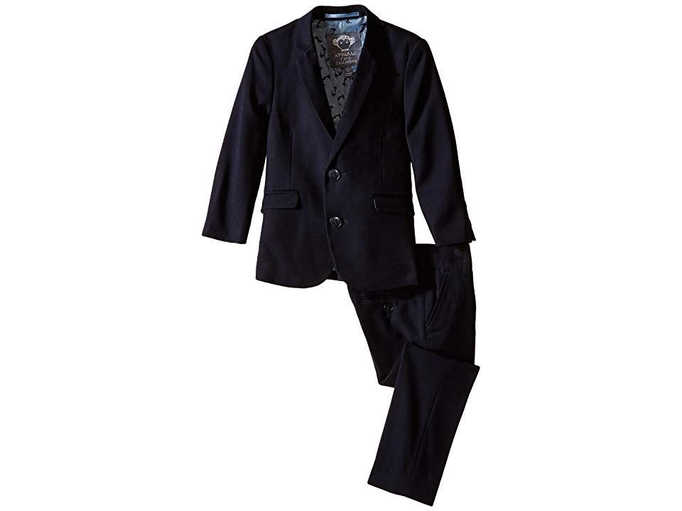 Appaman Big Boys Two-Piece Classic Mod Suit In Black