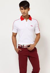 881eb213cad Net Shopping · Indie · Buy Fila Men Polo T-Shirts online in India. Huge  selection of Men Fila