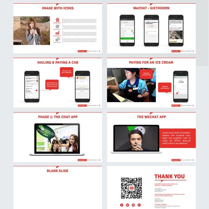 Design a Powerpoint Template for Knowledge Transfer on China by ...