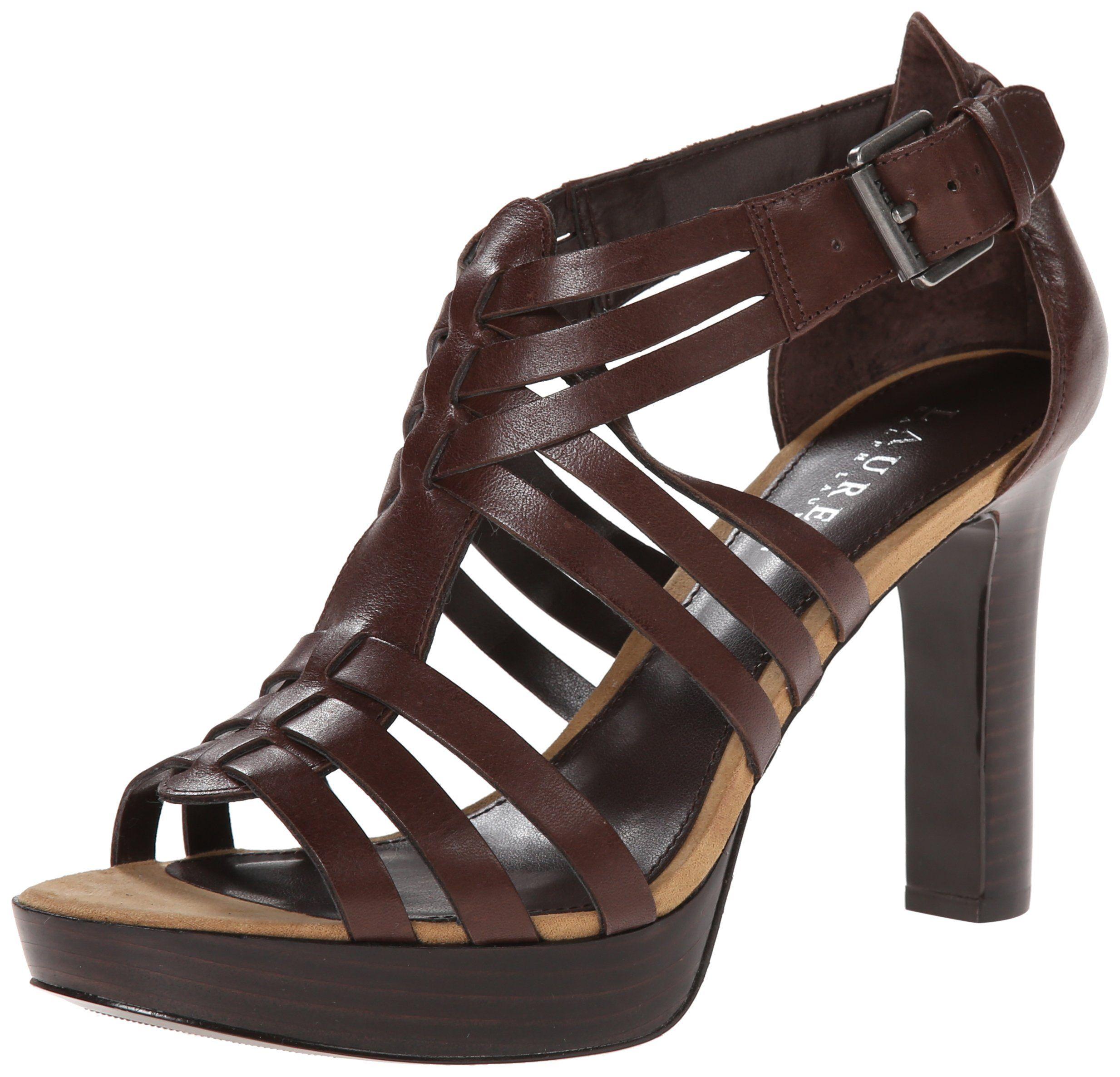 Lauren Ralph Lauren Womens Torie Dress Sandal, Polo Tan