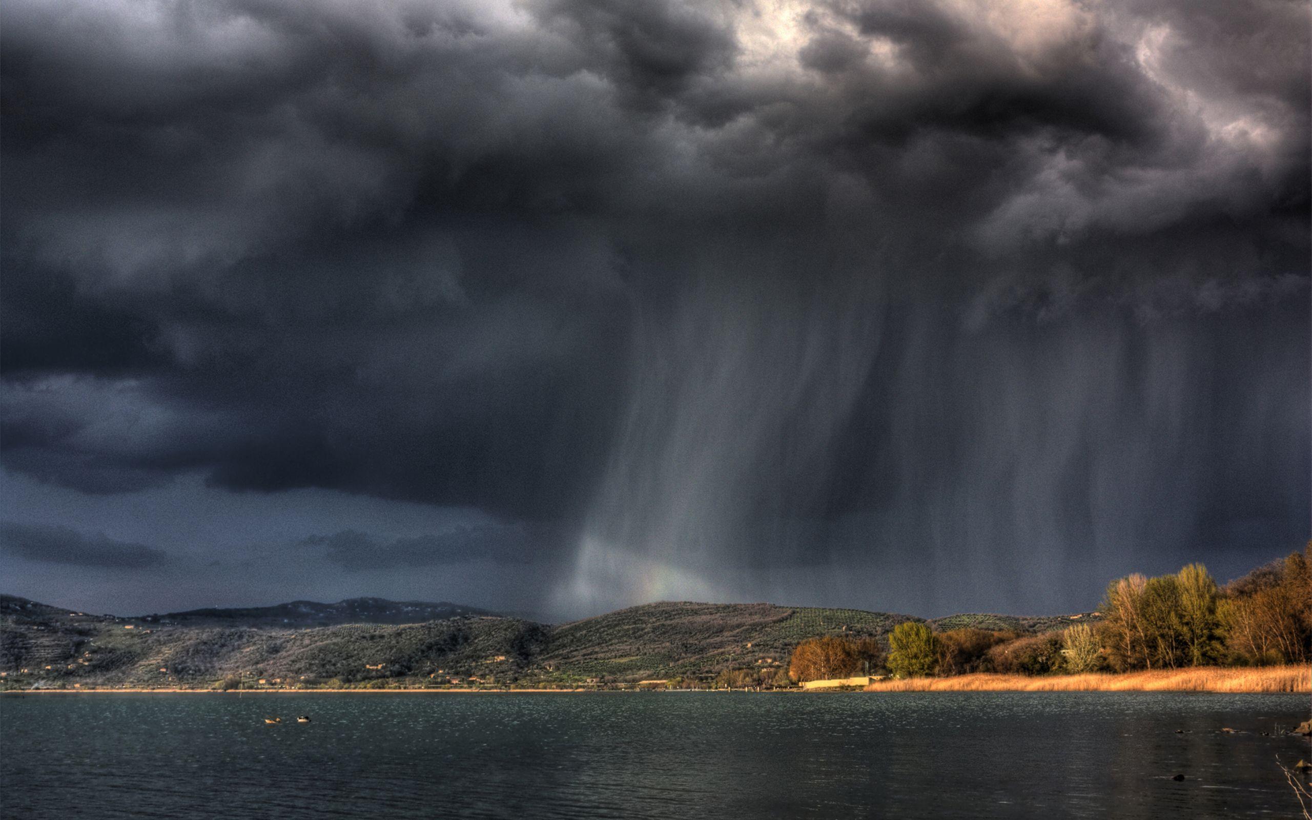 Single Angry Rain Cloud