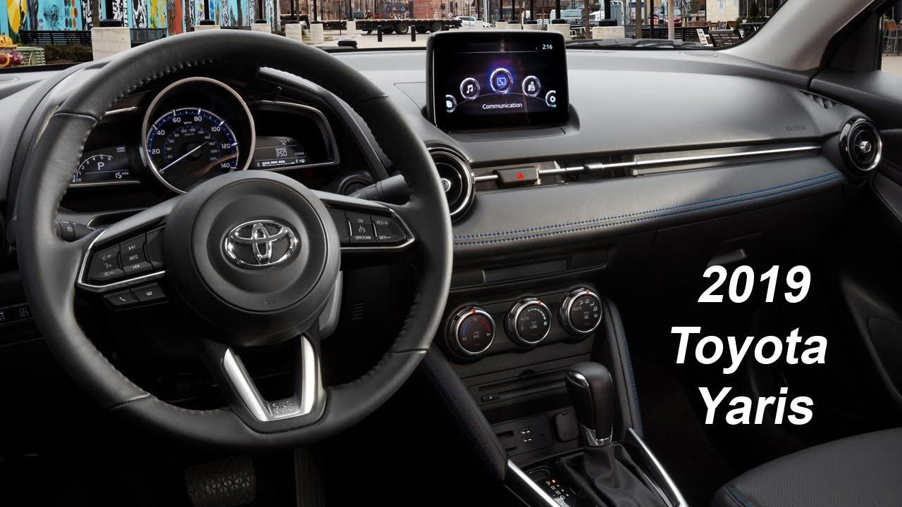 Toyota Yaris 2019 Interior Review Future Car 2019 Yaris Toyota Luton