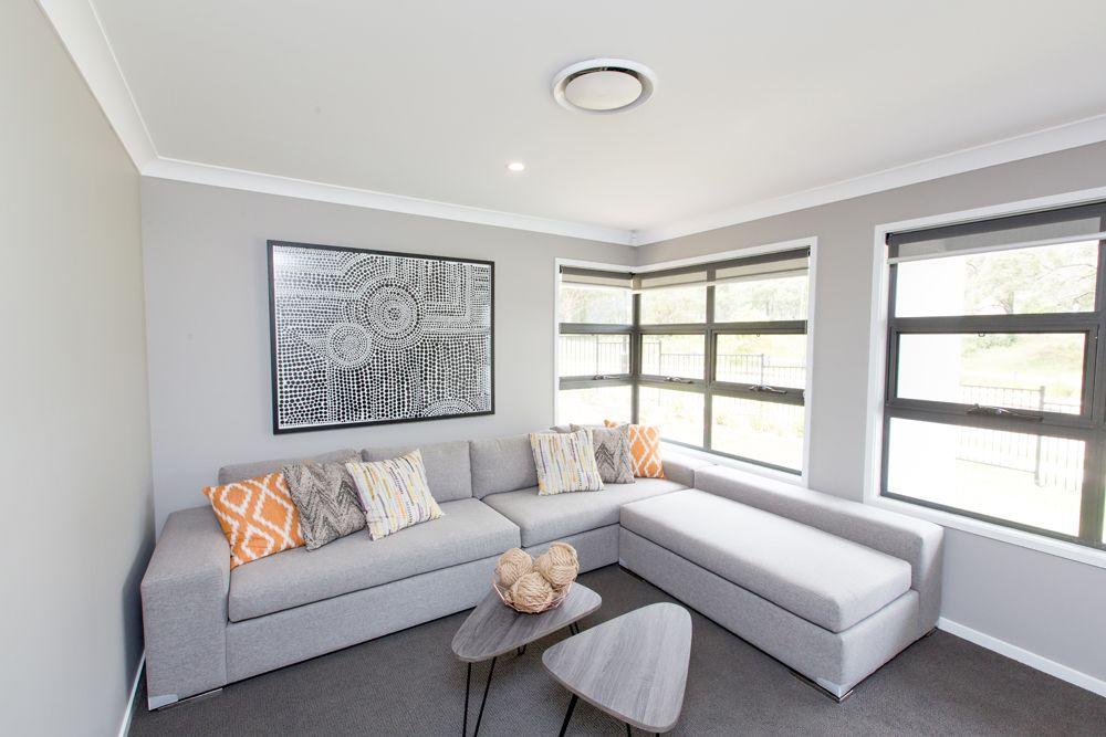 Display Home Chisholm Maitland New South Wales Grey Carpet Living Room Living Room Carpet Grey Walls