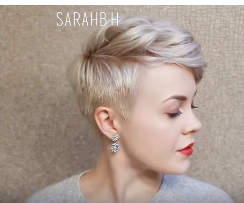 Pixie Cut Hair Styling - Curly / Wavy