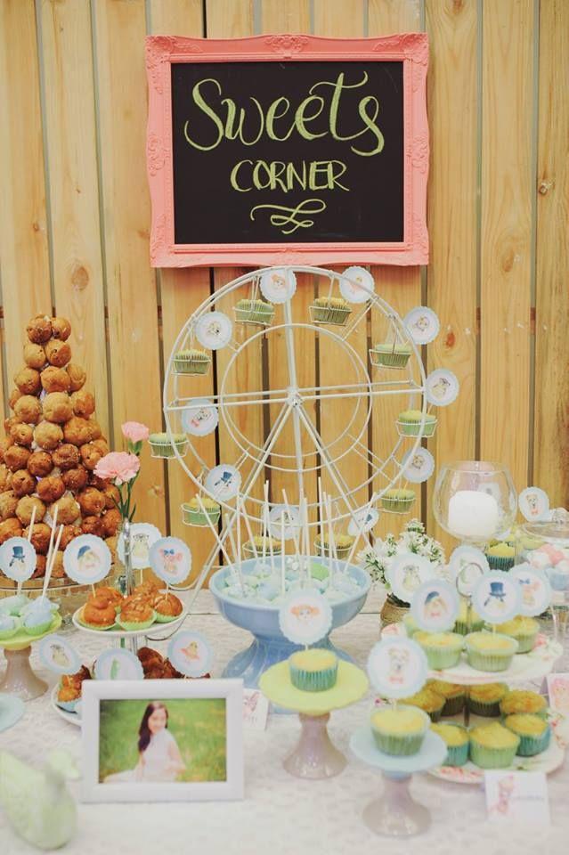 Sweets Dessert Corner Styling By Www Somethingprettymanila Com