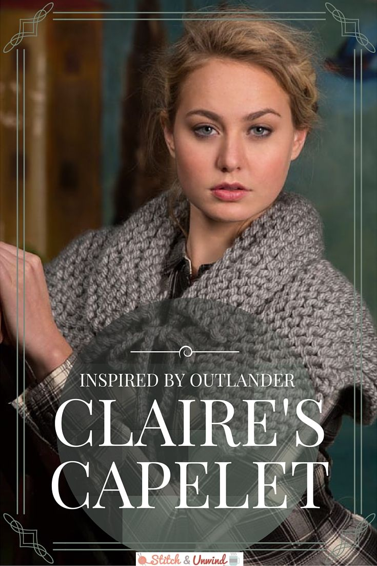 Free pattern friday claires capelet from red heart outlander free pattern friday claires capelet from red heart bankloansurffo Gallery