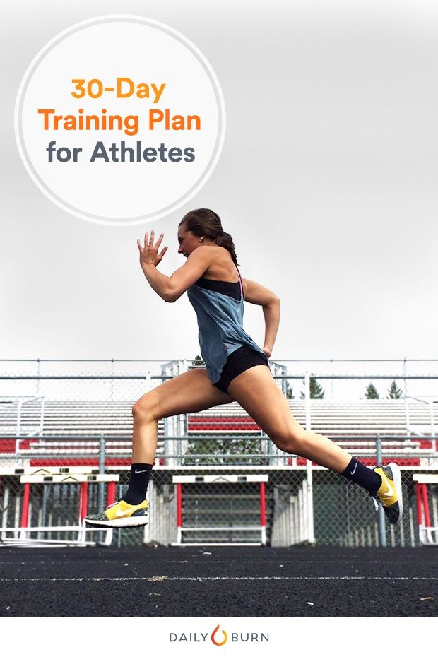 Your 30-Day Athlete Training Plan for Power, Strength and Speed