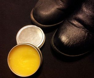 How To Make High Grade Natural Beeswax Leather Polish And Conditioner Natural Beeswax Leather Conditioner Diy Beeswax