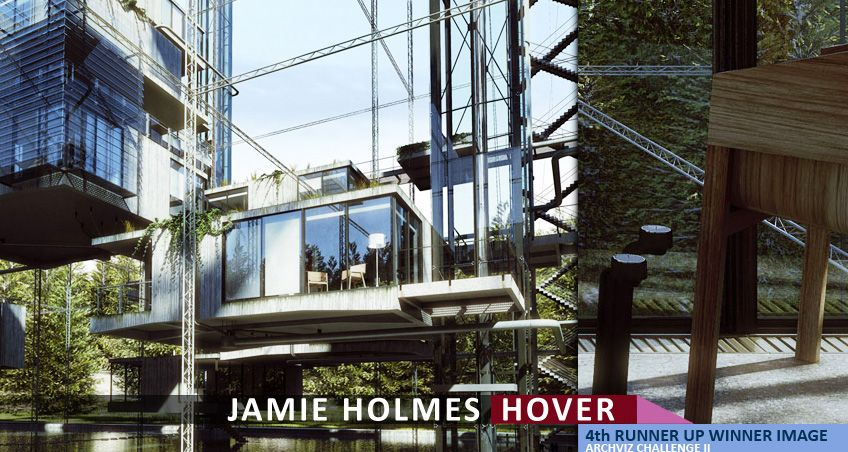 Making of hover 3d grid by jamie holmes the 4th runner up winning entry of the hover architectural visualization challenge was not the typical thing one