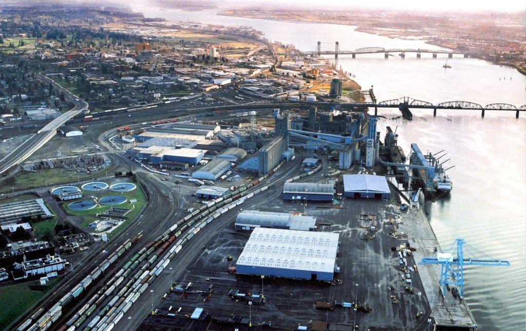 Port of Vancouver Vancouver, City photo, Washington