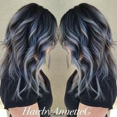 hairbyannetteg used #KenraColor 7SM with a smidge of Blue Booster to get this perfect cool tone! #MetallicObsession
