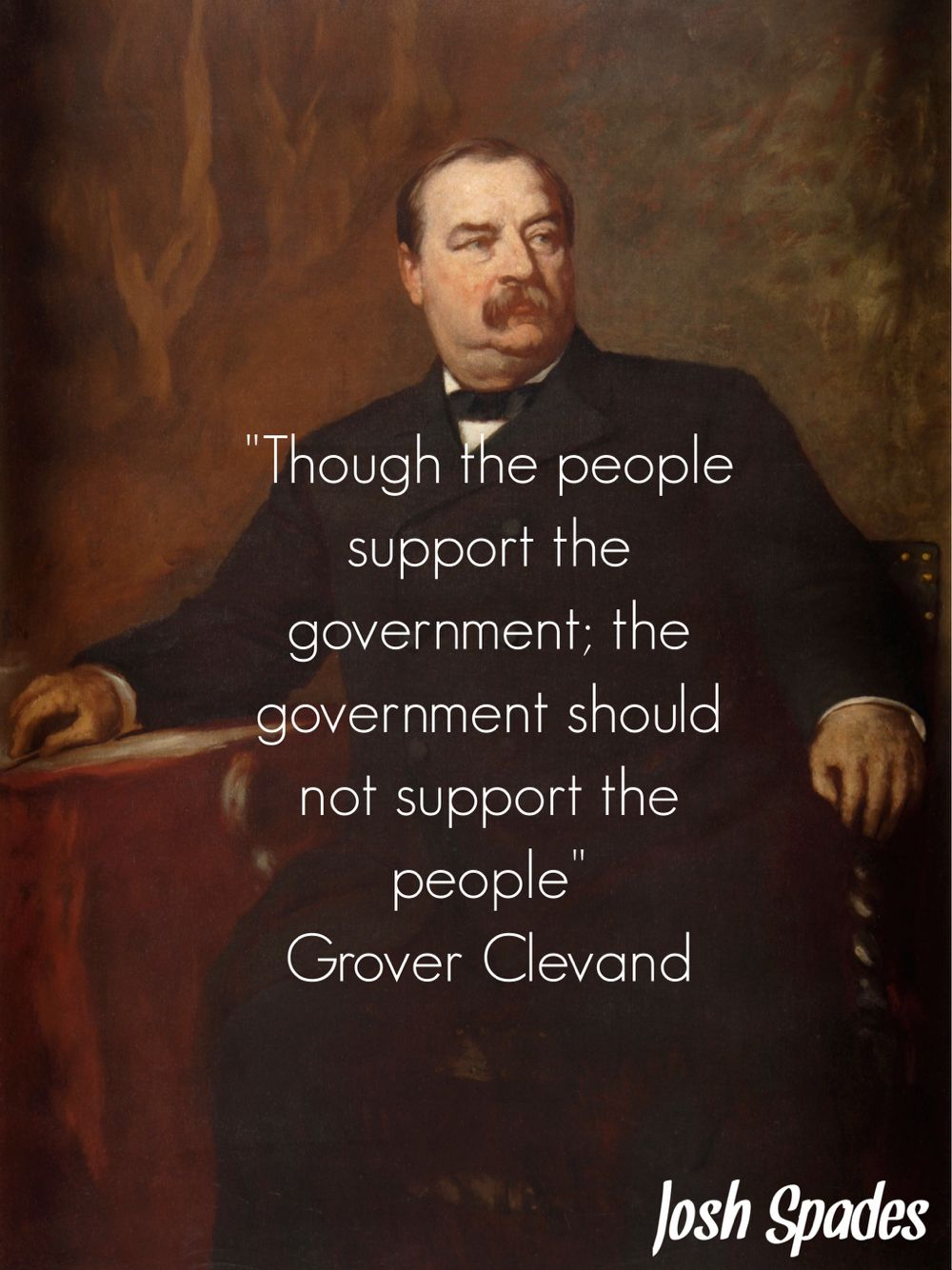 Grover Cleveland President Quotes Grover Cleveland